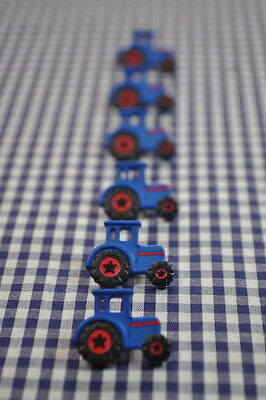 Tractor BUTTONS BUTTON 23mm tractor Sew Children Farm Boys Car DIY