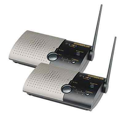 Portable Intercom Chamberlain Wireless Intercom Home Communication System 900mhz