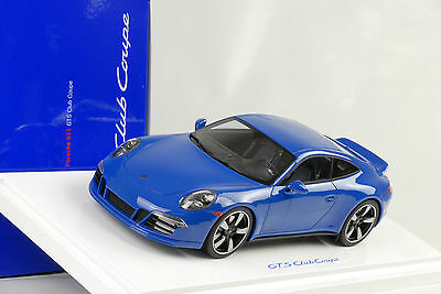 2015 Porsche 991 Carrera GTS Coupe 60 Years porsche Club 1:18 GT Spirit Dealer