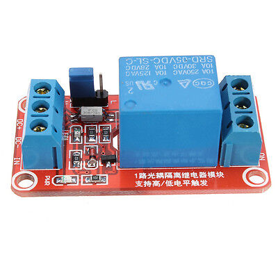 10X(5V 1 channel H / L Level Trigger Relay Optocoupler Module for Arduino BF