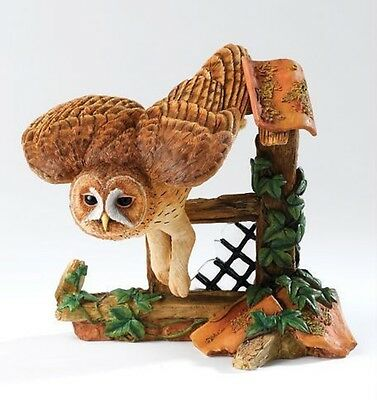 Country Artists CA00340 Tawny Owl Height 14.5cm Created By David Ivey