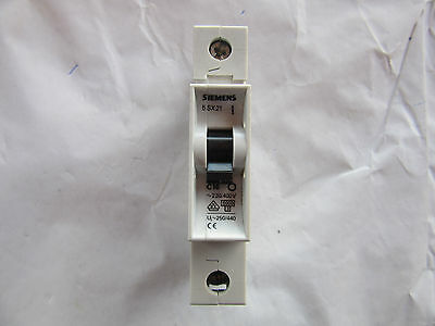 Siemens 5SX21-C16 Circuit Breaker 1P 16A 277V New!!! Free Shipping