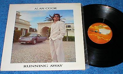 "Alan Cook 12"" Spain Maxi 45 Running Away 1987 Electronic Italo Disco Max Music !"