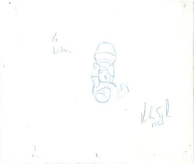 Winnie the Pooh and Tigger - 2  Walt Disney Production Animation drawings