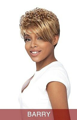 Vanessa Hair Synthetic Wig - BARRY Color 1B