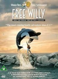 FREE WILLY PART 1 DVD Brand New and Sealed Original Genuine UK Release
