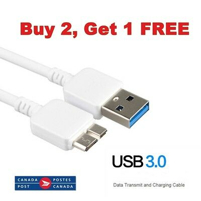 New 9 Pin USB 3.0 Cable Data Charger Cord SYNC Samsung Galaxy S5 Note3 4.9FT