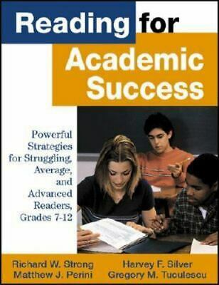 Reading for Academic Success: Powerful Strategies for Struggling