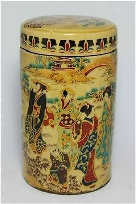 Chinese Old Handwork Porcelain Painting Belle Pot