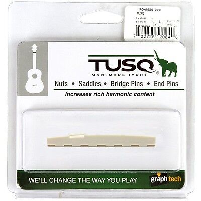"Graph Tech Tusq Microbalance Guitar Saddle 16"" Radius *new* Pq-9650-00"