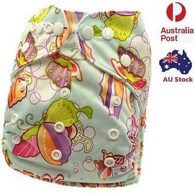 New Design Waterproof Outer Layer Adjustable Reusable Diapers Nappy MCN (D52)