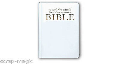 A Catholic Childs First Communion Bible - great First Holy Communion present