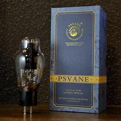 Matchecd Pair PSVANE WE300B Tube Western Electric 1:1 Replica Replace 300BA 300B