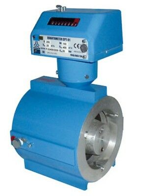 Common Quantometro Mechanical Gas Meter G100 65mm in line turbine flanged pulse
