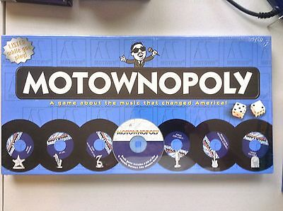 MOTOWNOPLOY GAME BRAND NEW FACTORY SEALED - Comes with Motown CD
