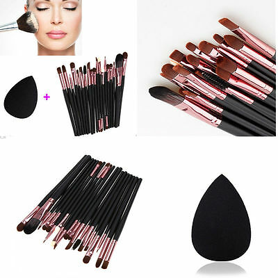 20pcs Makeup Brushes Set Powder Foundation Eyeshadow Eyeliner Lip Brush Tool UP