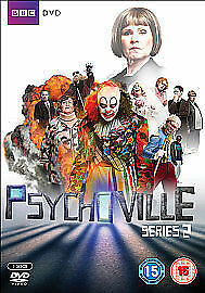 PSYCHOVILLE COMPLETE SERIES 2 DVD BOX SET Seasons Brand New Sealed UK Release