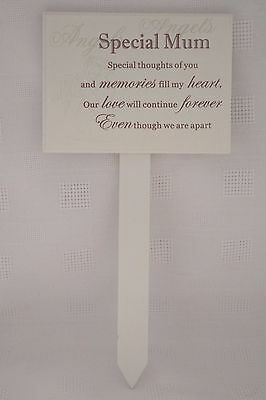 Mum Graveside Memorial Grave Stick Special Thoughts Of You Special Mum F0898F