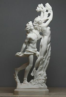 Apollo & Daphne Bernini Greek Roman Nude God Cast Marble Statue Sculpture 11΄΄