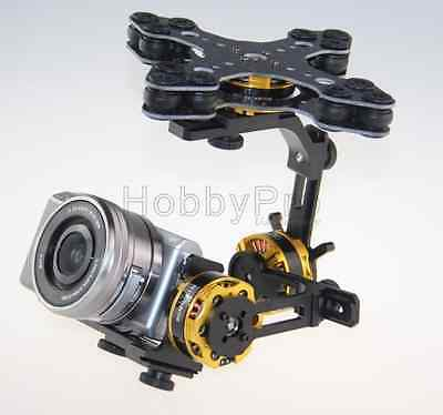 3 Axis Brushless Gimbal w/ Alexmos Basecam Controller for Sony NEX ILDC Camera