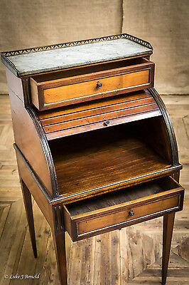 19th Century Tambour Pot Cupboard