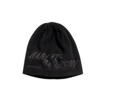Harley-Davidson - Beanie Hat - Brand New - Knitted Cap Warm Fitted Slouch