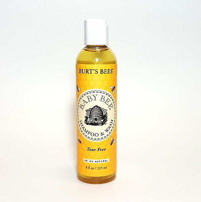 Burts Bees Baby Bee Shampoo & Wash 235ml Tear & Chemical Free | Happy Baby