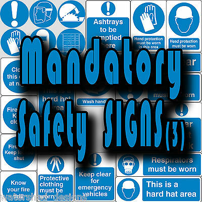 Mandatory safety signs, PPE, Close Door Keep Clear Vinyl wall stickers signs (3)