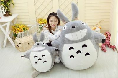 My Neighbor Totoro Anime Movie Soft Plush Toy Doll Large Pillow Figure 60CM/80CM