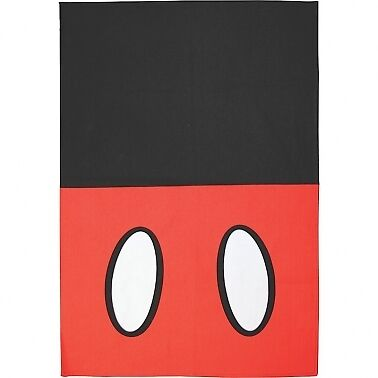 Mickey Red Tea Towel Black Official Disney Kitchen Product