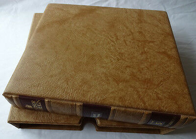 Stanley Gibbons Windsor Sovereign Ring Albums With Slipcase Excellent Cond