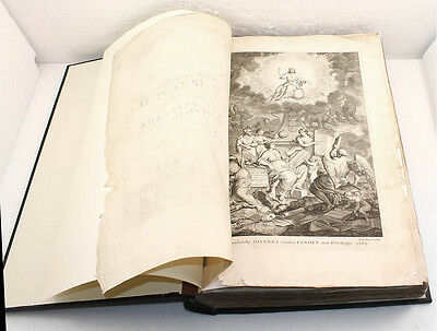 The Old and New Covenant Antique Bible - DUTCH - Dated 1729 - Renovated