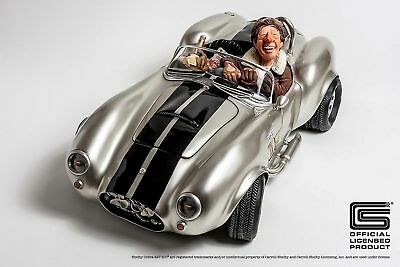 "GUILLERMO FORCHINO - ""SHELBY COBRA 427 S/C"" - Comic Art Skulptur FO85082  NEU !!"