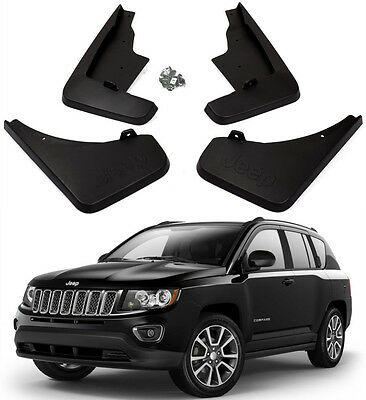 Genuine OEM Set Splash Guards Mud Flaps 82212513/2514 For 2011-2016 Jeep Compass