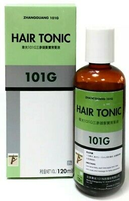 101G Hair Tonic for Stopping Hair Loss and Alopecia for Hair Re-growth