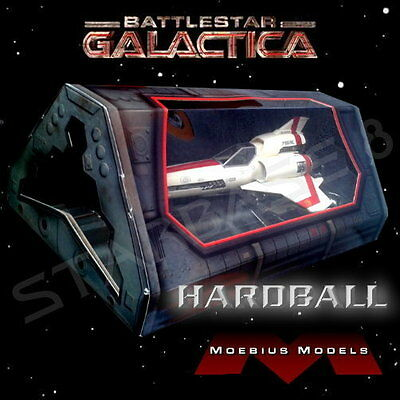 'hardball' Colonial Viper Mark Ii Prefinished Replica Battlestar Galactica