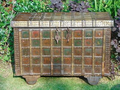 Antique 18th Century Indian Dowry Chest.