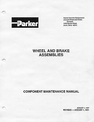 Cleveland Wheels & Brakes Maintenance Manual - A Division Of Parker Aerospace