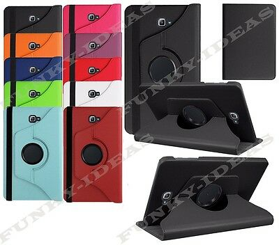 """Smart 360 Rotation Leather Case Stand Cover For Samsung Galaxy Tab A 10.1"""" T585"""