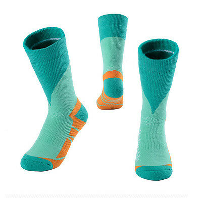 Hiking COOLMAX Breathable Thermal Socks  Winter Athletic Long Sports Socks