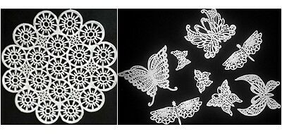 9 PIECES LACE SET (1st Picture) - New Year, Baby Shower, Halloween Festival