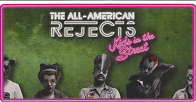 All American Rejects Kids in the Street Promotional Sticker FREE SHIPPING!!!