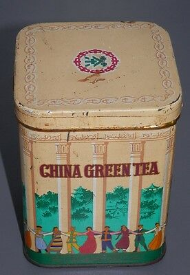 Una Lata/caja  China Green Tea