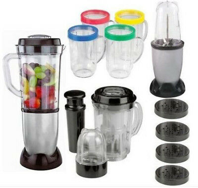 21 Piece Deluxe Blender Set for Mixing, Grinding & Chopping Multi- Blender NEW