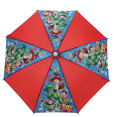 Boys Childrens Character Novelty Buzz Woody Toy Story Umbrella