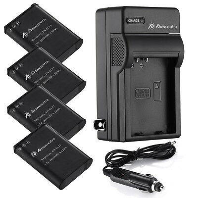 EN-EL23 ENEL23 Battery + Charger for Nikon Coolpix B700 P900 S810C P610 P600