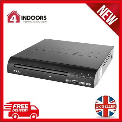 Akai A51002 Compact Multi Region DVD Player with USB *SCART Output* - Brand New