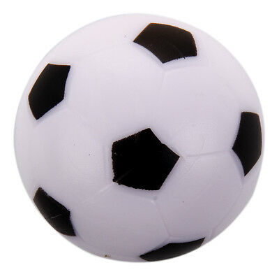 Small Soccer Table Ball Plastic Hard Homo logue Children Game Toy Black White BF