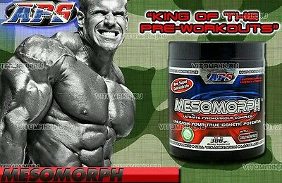 MESOMORPH ORIGINAL IMPORTED VERSION Preworkout dust c4 jym war 5% gat vpx redcon