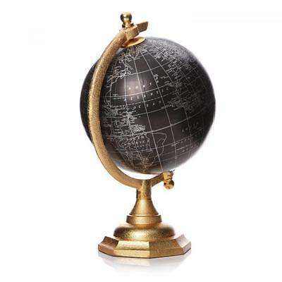 16cm World Globe Rotating Swivel Map of Earth Atlas Geography Vintage Mens Gift